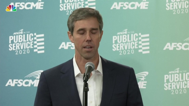 [NATL] O'Rourke Reacts to Deadly Mass Shooting in El Paso, His Hometown