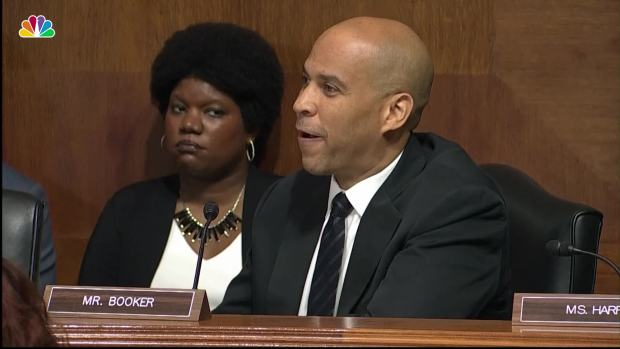 [NATL] Booker: 'This Is Not a Partisan Moment for Our Country'