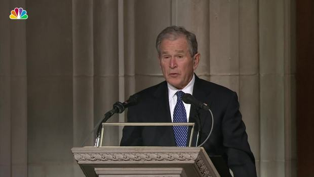 George W. Bush's Full Eulogy for His Father, George H.W. Bush