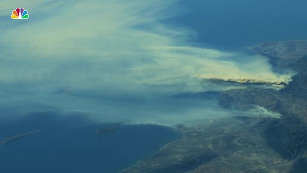 [NATL] Astronaut Shares Incredible Photos of Calif. Wildfires From Space