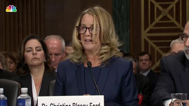 Key Moments From Ford's Testimony on Kavanaugh