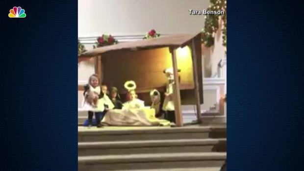 [NATL] Preschoolers Battle for Baby Jesus Doll During Nativity Pageant