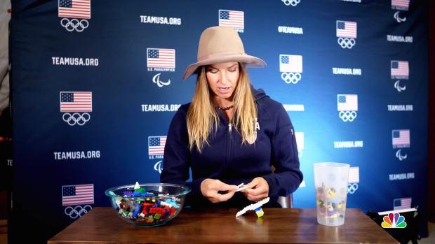 [NATL] Ted Ligety and Julia Mancuso Explain Alpine Skiing With Legos