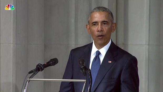 [NATL] President Obama: McCain 'Called On Us to Be Bigger' Than Today's Politics