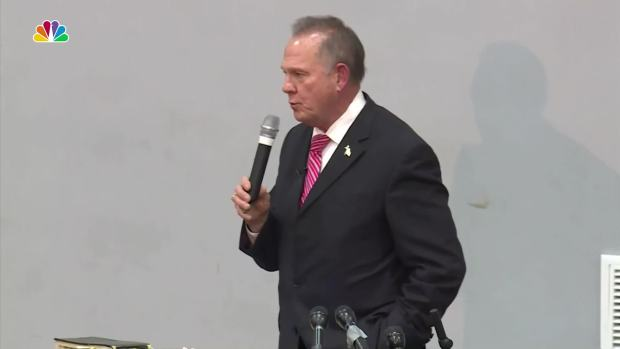 Roy Moore: 'I've unified the Democrats and Republicans in fighting against me'