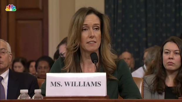 [NATL] WATCH: Jennifer Williams' Opening Statement From Impeachment Hearing With Vindman