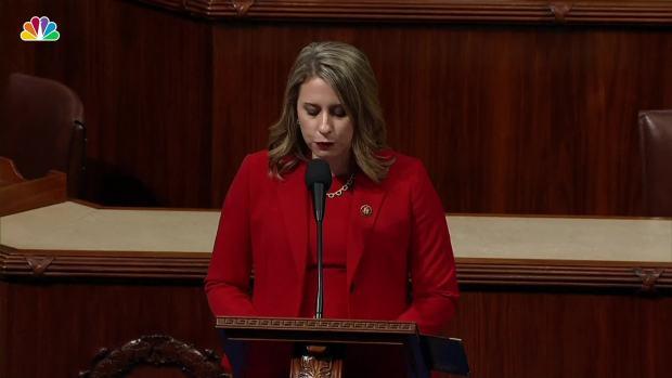 [NATL] Calif. Dem. Hill Blames 'Double-Standard' as She Departs House