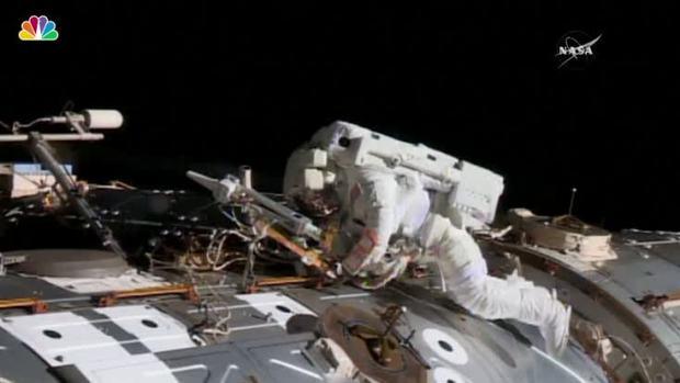 [NATL] Astronauts Repair Failed Computer at Space Station