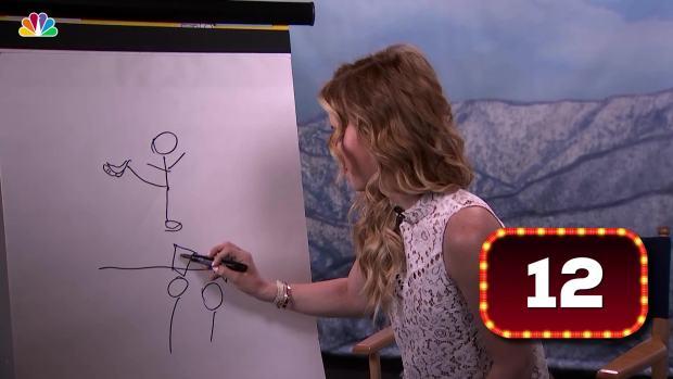 What Is Tara Lipinski Drawing?