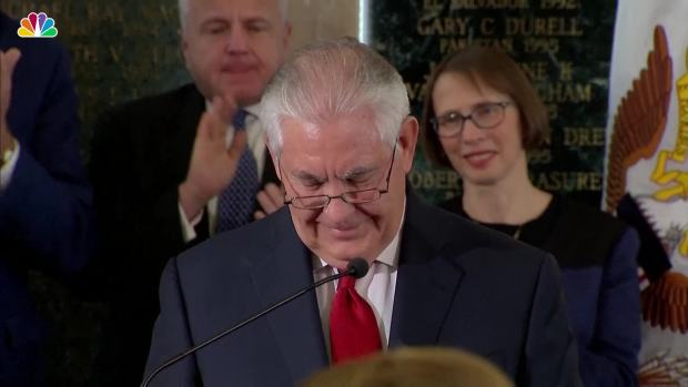 [NATL] Tillerson Says Goodbye at State Department