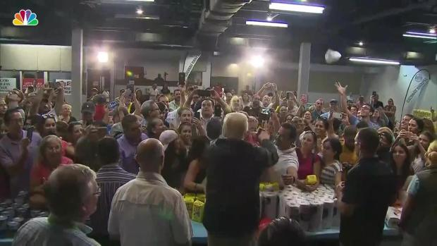 [NY] Trump Throws Paper Towels to Crowd in Puerto Rico