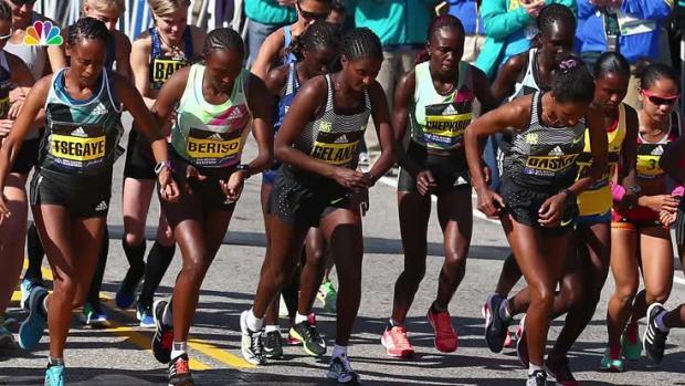 US Finishes Strong, But Kenyans Sweep Boston Marathon