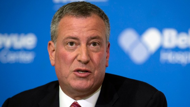 [NY] RAW VIDEO: Excerpts From Cuomo, De Blasio's Ebola News Conference