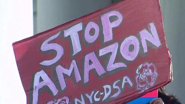 [NY] Debate Over Amazon Queens HQ