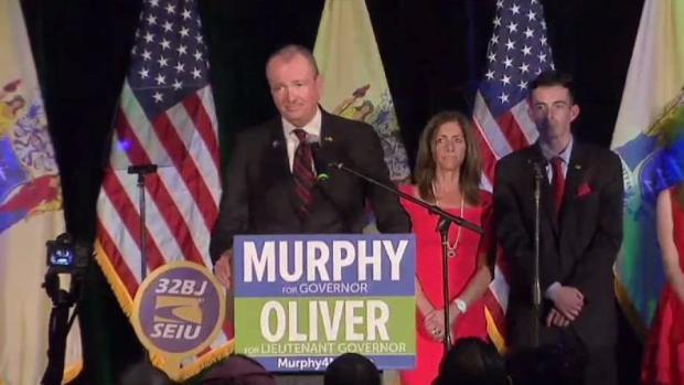 Democrat Phil Murphy Projected Winner in NJ Gov's Race