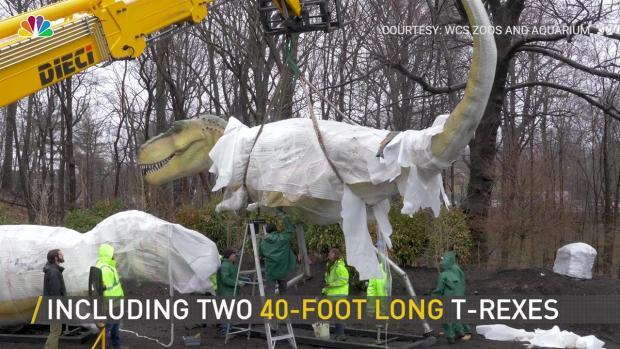 [NY] Dinosaurs Arrive at Bronx Zoo