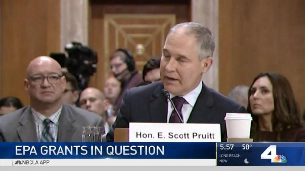 Environmental Groups Fear Possible EPA Cuts