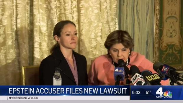 [NY] Epstein Accuser Files New Lawsuit