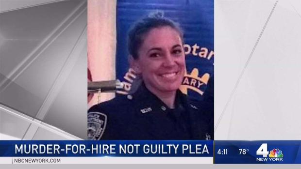[NY] Ex-NYPD Cop in Alleged Hit-Plot Pleads Not Guilty