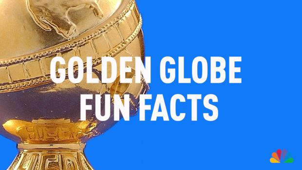 Golden Globe Awards Fun Facts