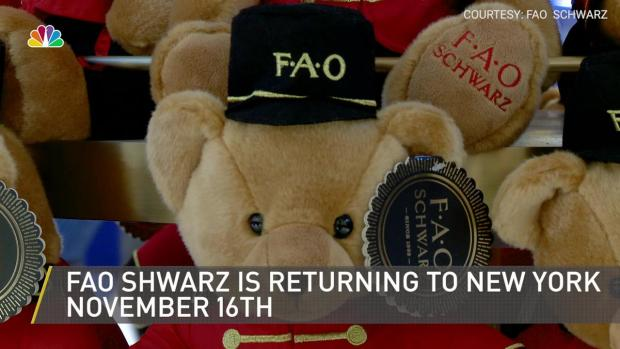 [NY] Sneak Peek Inside New FAO Schwarz Ahead of Opening