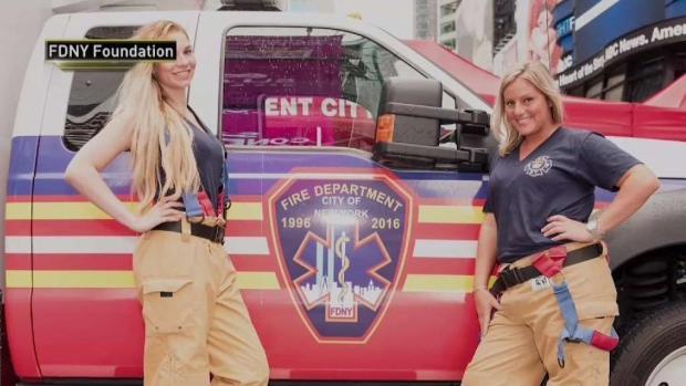 [NY] FDNY Heroes Sizzle in New Calendar