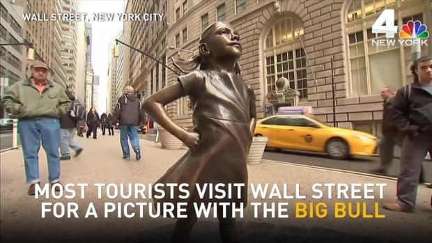 [NY] 'Fearless Girl' Stares Down Wall Street's Charging Bull