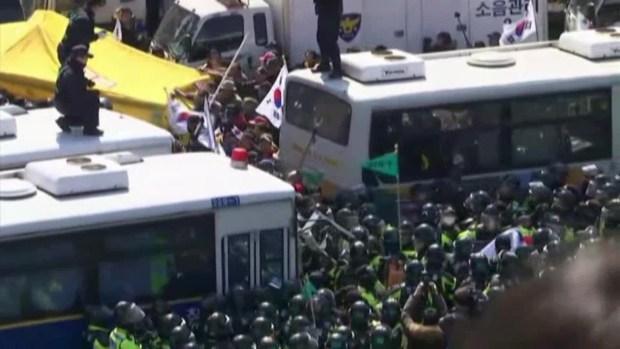 South Koreans Protest, Celebrate President's Removal