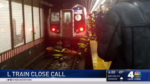 [NY] Fainting Woman Falls onto Subway Tracks as Train Enters