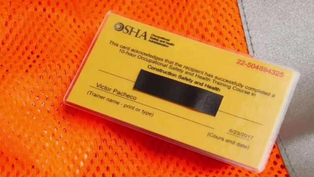 [NY] I-Team: Fake Safety Cards Boom on Black Market Despite Deaths