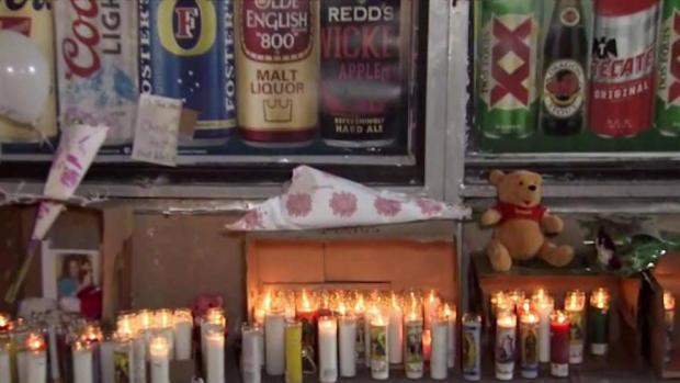 [NY] Families Overcome With Grief at Vigil for Fire Victims