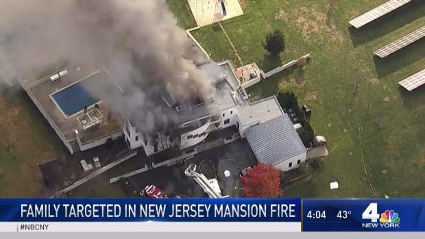 Family Targeted in New Jersey Mansion Fire
