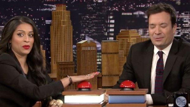 [NATL] 'Tonight Show' Fast Family Feud With Lilly Singh