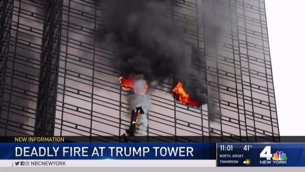 Fatal Fire Rips Through Trump Tower's 50th Floor