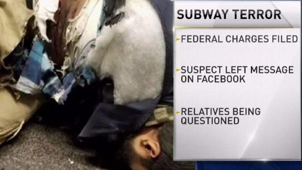 [NY] Federal Terror Charges Filed in NY Subway Bombing