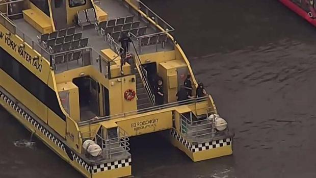 [NY] Ferry Has Hard Landing on West Side