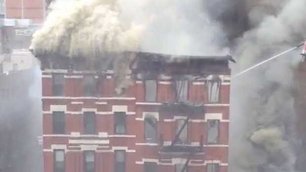 [NATL] WATCH: Building Explosion in Lower Manhattan