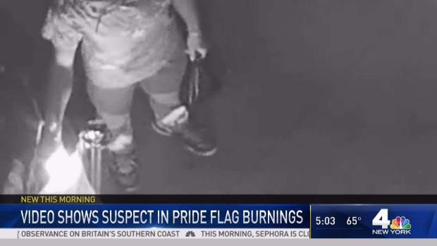 [NY] First Look at Suspect in Harlem Pride Flag Burning