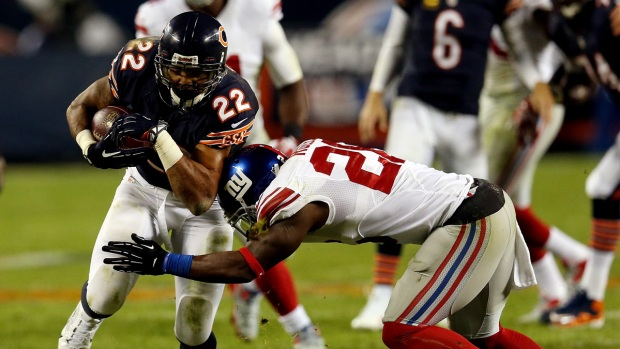 Images from the Giants-Bears Game