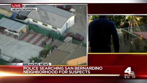 Man Describes Ducking for Cover in San Bernardino Police Shootout