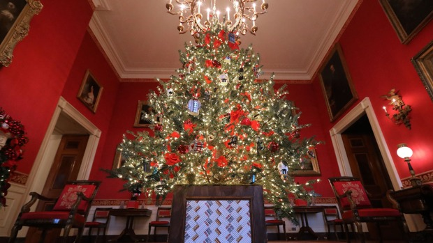 [NATL] White House Decks the Halls With 'American Treasures' for 2018 Holiday Season
