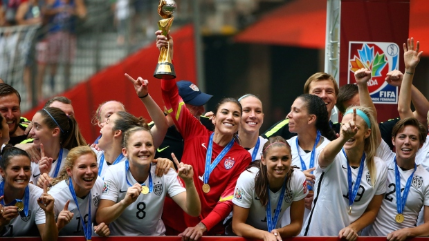 U.S. Wins 2015 World Cup