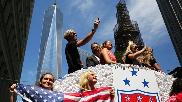 PHOTOS: NYC Holds Ticker-Tape Parade for World Cup Champions