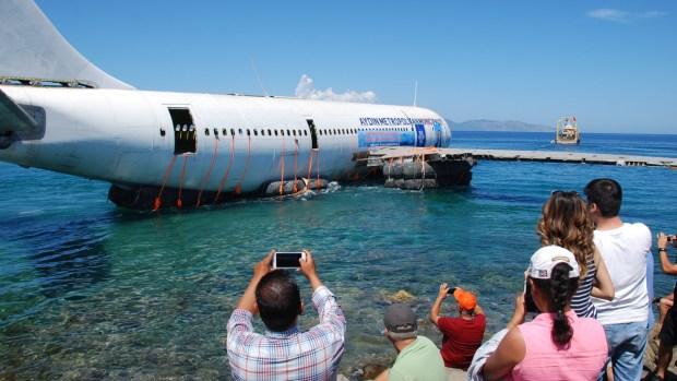 [NATL] Turkey Sinks 47-Ton Airplane into Aegean Sea to Boost Tourism