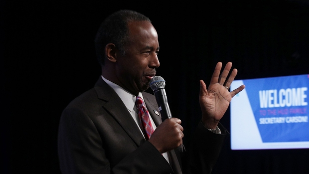 [NATL] Carson Compares Slaves to Immigrants in First Address to HUD