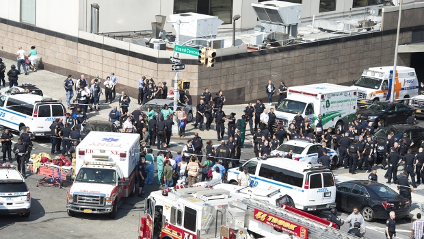 In Pictures: Seven People Shot by Doctor at NYC Hospital