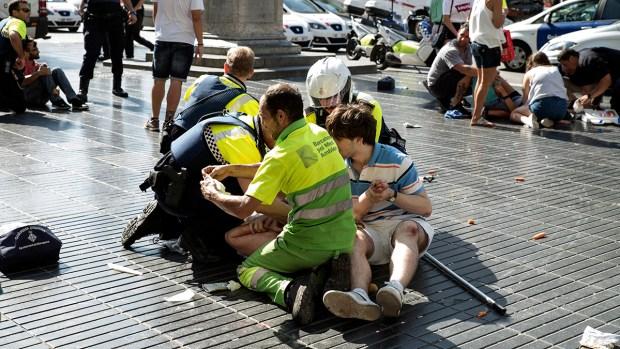 Photos: Deadly Terrorist Attacks in Barcelona, Cambrils