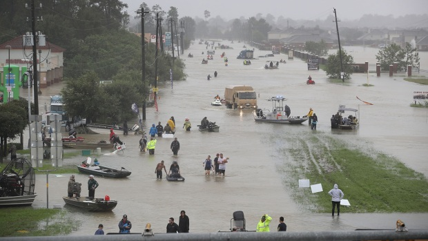 Dramatic Images: Floods Hit as Harvey Drenches Texas