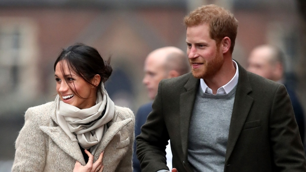 Royal Family Pics: Harry, Meghan Markle Step Out in 2018