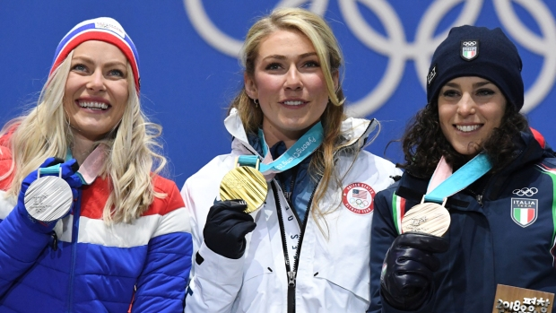 [NATL] Feb. 15 Olympics Highlights in Photos: Shiffrin Wins Gold